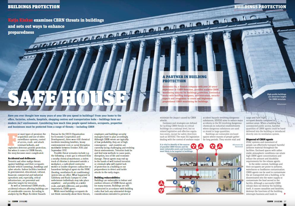 "Safe House"" – Katja Kiukas Examines CBRN Threats in Buildings and"