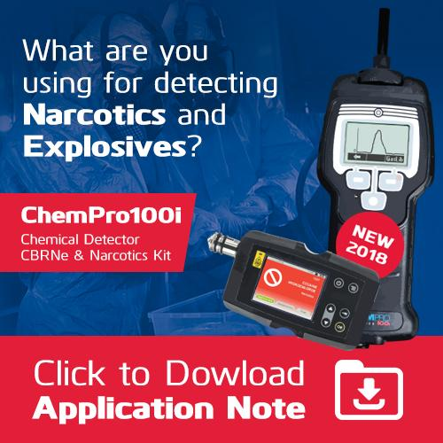 What are you using for detecting Narcotics and Explosives? Download Application Note