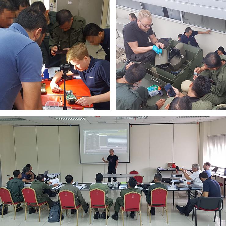 Major CBRN Reconnaissance Training in Malaysia