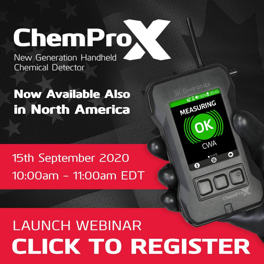 Register for ChemProX - Now Available Also in North America launch webinar